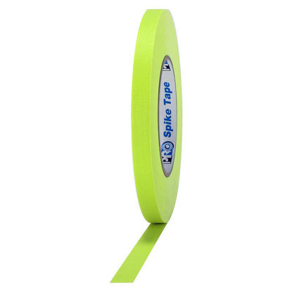Picture of Fluorescent Yellow Spike Tape - 1/2-inch