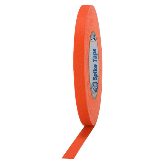Picture of Fluorescent Orange Spike Tape - 1/2-inch