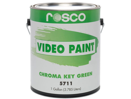 Picture of Rosco Chroma Key Green Paint - 1 galllon
