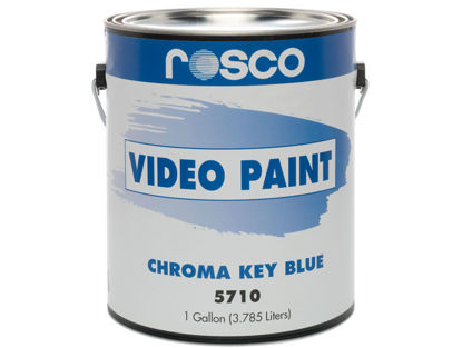 Picture of Rosco Chroma Key Blue Paint - 1 galllon