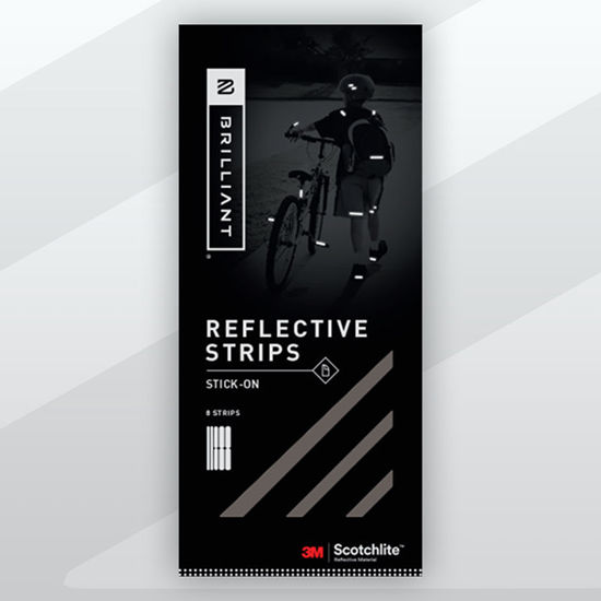 Picture of Stick-On Tape Reflective - Black