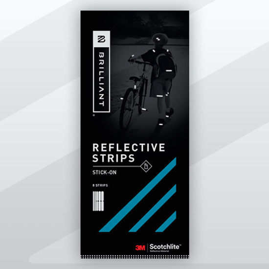 Picture of Stick-On Reflective Tape - Blue