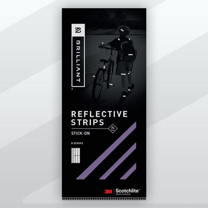 Picture of Stick-On Reflective Tape- Purple