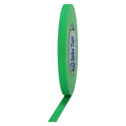 Picture of Fluorescent Green Spike Tape - 1/2-inch