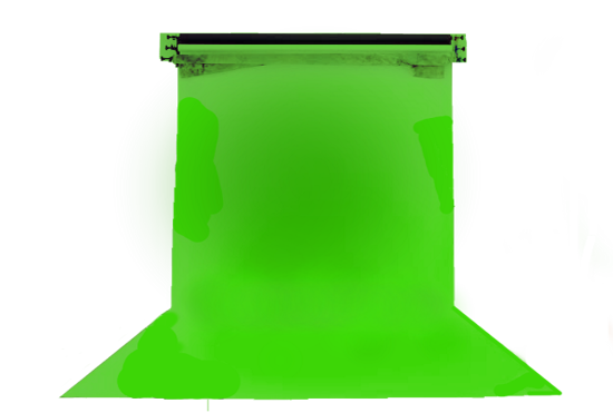 """Picture of Chroma Key Green IFR Cyc Cloth - 72"""""""