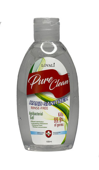 Picture of Hand Sanitizer Gel - 3 oz. (100ml) Squeeze Bottle